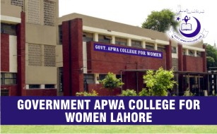 Government APWA College for Women Lahore Merit Lists 2020