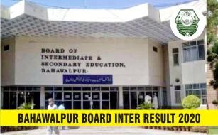 BISE Bahawalpur Board Inter Result 2020