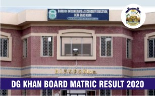 BISE DG Khan Board Matric Result 2020