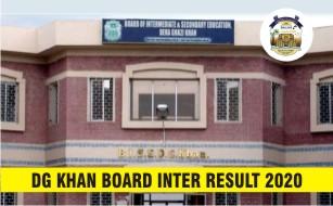 BISE DG Khan Board Inter Result 2020