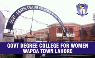 Govt Degree College for Women Wapda Town Lahore Merit Lists 2020