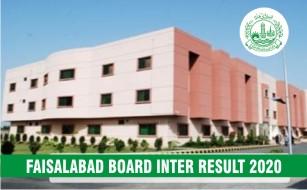 BISE Faisalabad Board Inter Result 2020