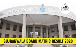 BISE Gujranwala Board Matric Result 2020