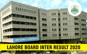 BISE Lahore Board Inter Result 2020