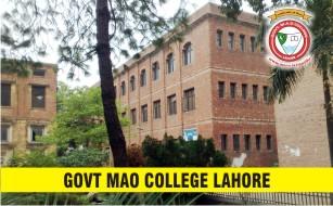 Govt MAO College Lahore Merit Lists 2020