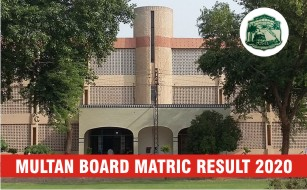 BISE Mutlan Board Matric Result 2020