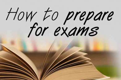 Easy Exam Preparation tips for the students
