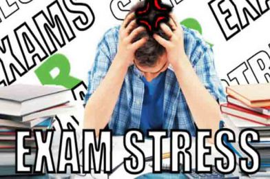 How to overcome the stress of exam?
