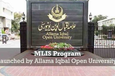 MLIS program launched by AIOU
