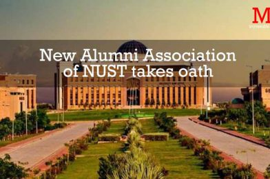 New Alumni Association of NUST takes oath