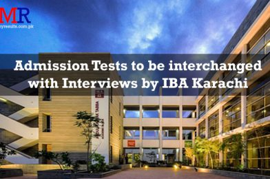 Admission Tests to be interchanged with Interviews by IBA Karachi