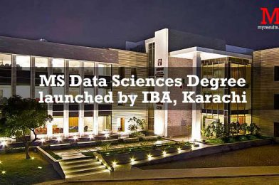 MS Data Sciences Degree launched by IBA, Karachi