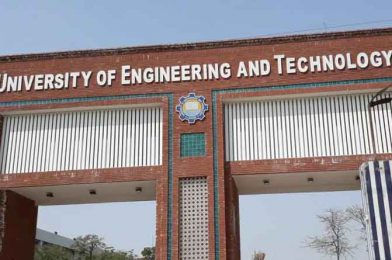 UET issues academic calendar for students