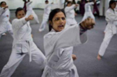 Women self-defense training